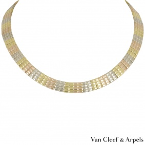 Van Cleef & Arpels Tri-Colour Necklace